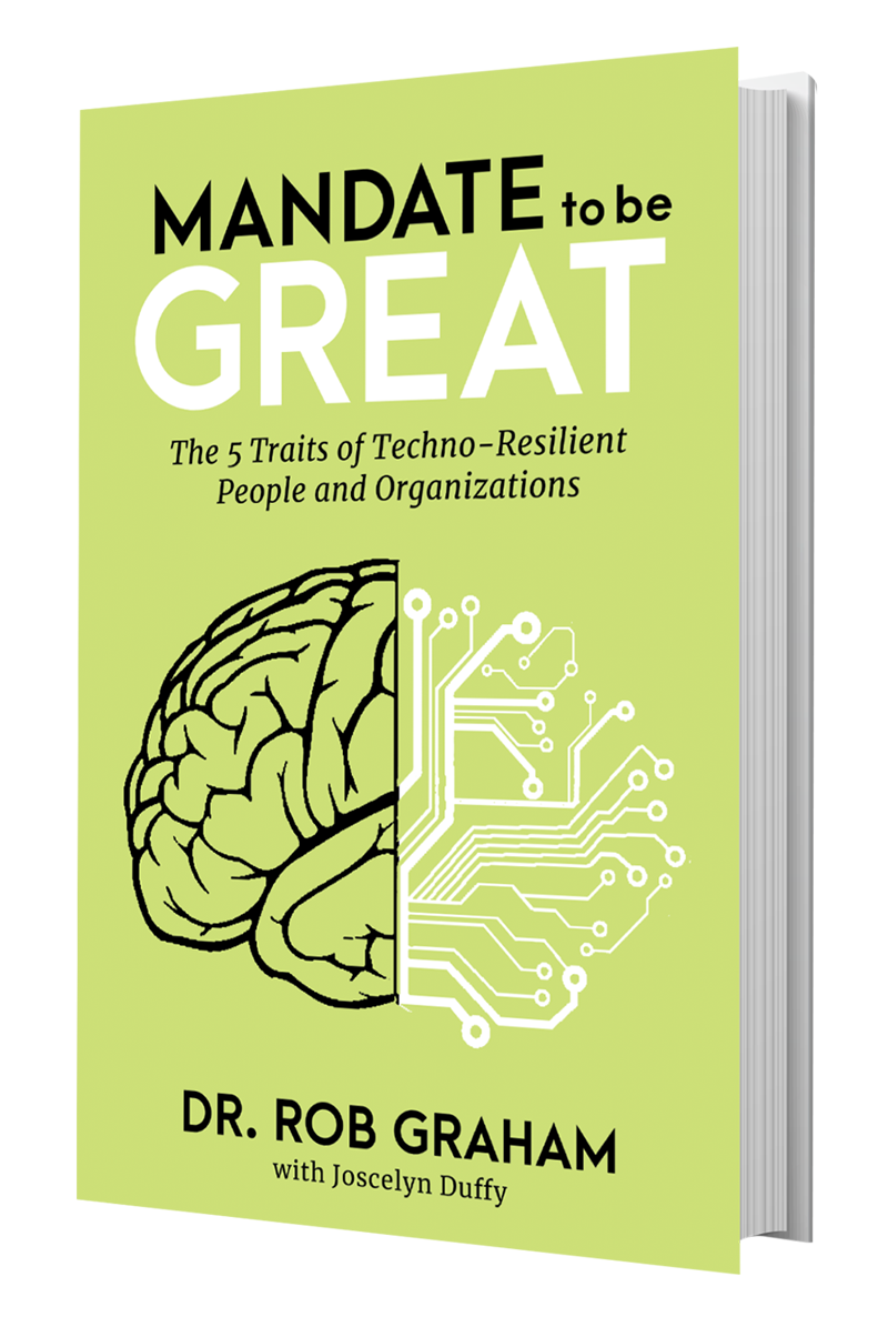 Mandate To Be Great book by Dr Rob Graham